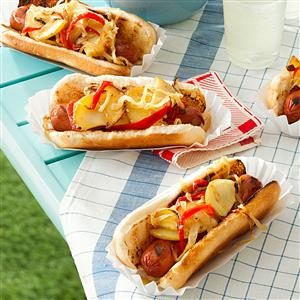 Jersey-Style Hot Dogs Recipe