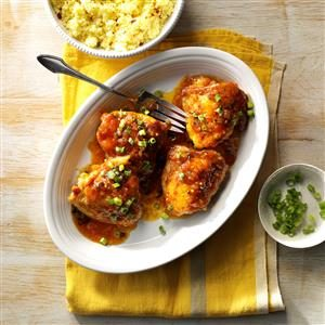 Jezebel Chicken Thighs