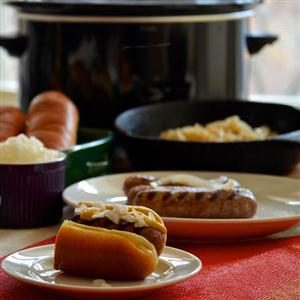 Johnsonville Brat Crock