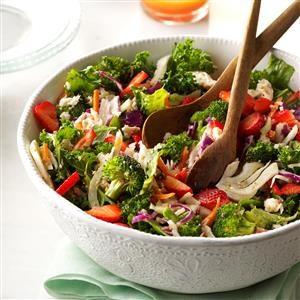Kale Slaw Spring Salad Recipe