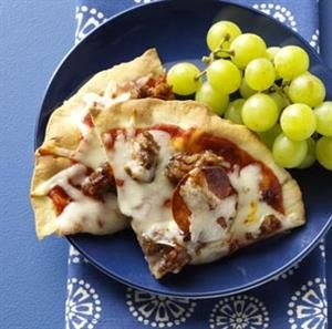 Kid-Sized Classic Pizza Recipe