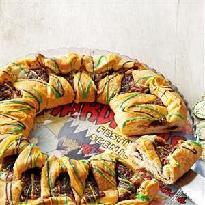 King Cake with Cream Cheese Filling Recipe