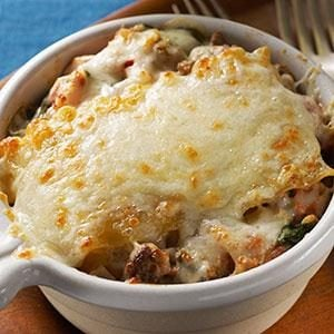 Lasagna Bake for Two