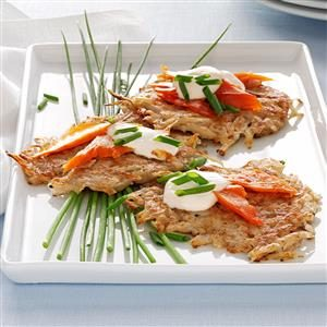 Latkes with Lox Recipe