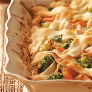 Lattice-Top Chicken Stew Recipe