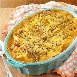 Layered Potato Beef Casserole
