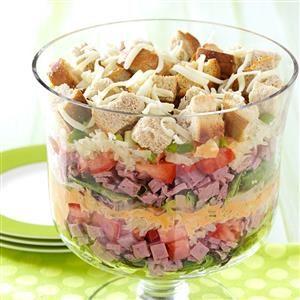 Layered Salad Reuben-Style Recipe