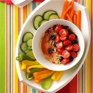 Layered Salsa Bean Dip Recipe