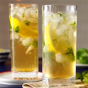 Lemon-Basil Mojito Mocktails Recipe