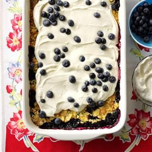 Lemon Berry Dump Cake Recipe