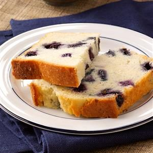 Lemon-Blueberry Tea Bread Recipe