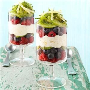 Lemon Breakfast Parfaits Recipe