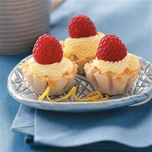 Lemon Burst Tartlets Recipe