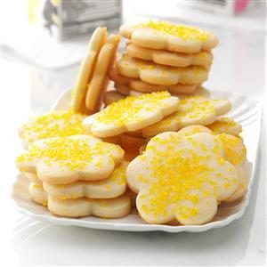 Lemon Butter Cookies