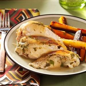 Lemon Cilantro Chicken Recipe