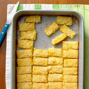 Lemon Coconut Squares Recipe