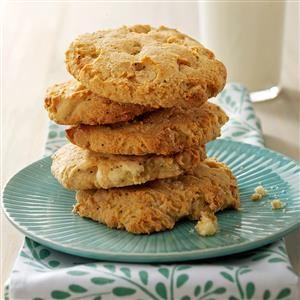 Lemon Cornmeal Cookies Recipe