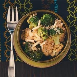Lemon Couscous with Broccoli Recipe