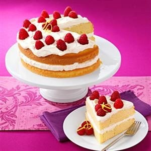 Lemon Cream Cake Recipe