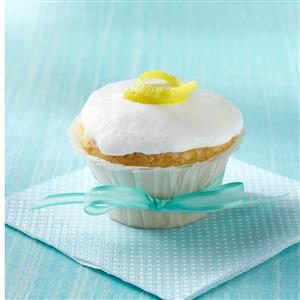 Lemon Cream Cupcakes Recipe