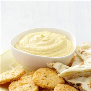 Lemon Garlic Hummus Recipe