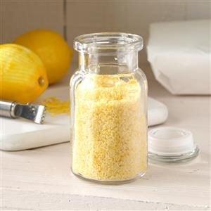 Lemon-Ginger Salt Recipe