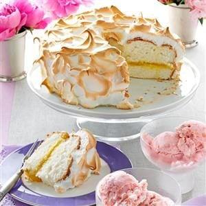 Lemon Meringue Angel Cake Recipe