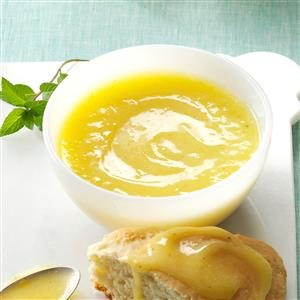 Lemon Mint Curd Recipe