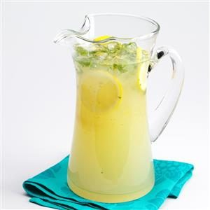 Menu #2 Drink:  Lemon Mint Spritzer