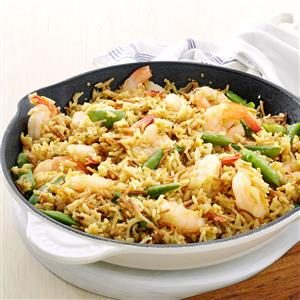 Lemon-Orange Shrimp & Rice Recipe