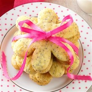 Lemon-Poppy Seed Cutout Cookies Recipe