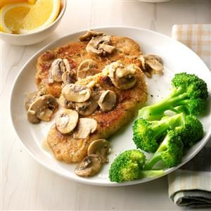 Lemon Pork with Mushrooms  Recipe