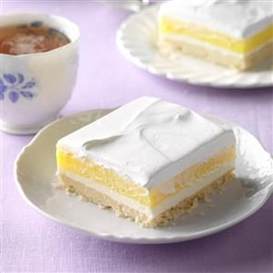 Lemon Pudding Dessert Recipe