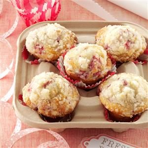 Lemon/Raspberry Streusel Muffins Recipe