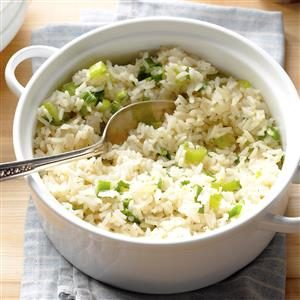 Lemon Rice Pilaf Recipe