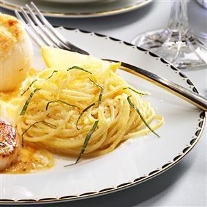 Lemon Spaghetti Recipe