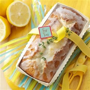 Lemon-Thyme Tea Bread Recipe