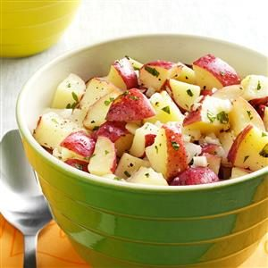 Lemon Vinaigrette Potato Salad
