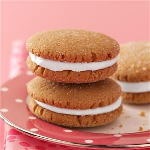 Lemony Gingerbread Whoopie Pies Recipe