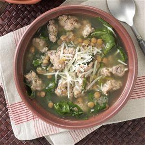 Lentil Spinach Soup Recipe