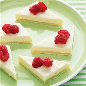 Light & Easy Cheesecake Bars Recipe