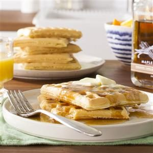 Light and Fluffy Waffles Recipe