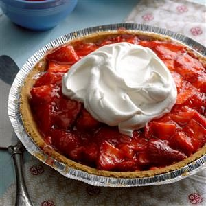 Light Strawberry Pie Recipe