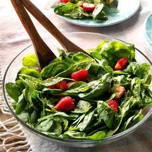 Light Strawberry-Spinach Salad Recipe