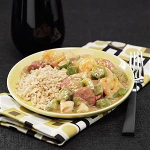 Lightened-Up Gumbo Recipe