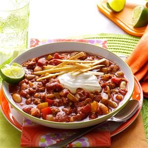 Lime Chicken Chili Recipe