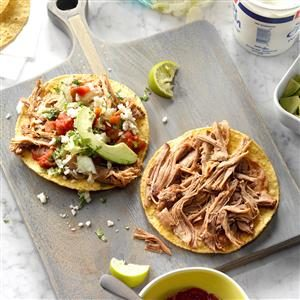 Lime-Chipotle Carnitas Tostadas Recipe