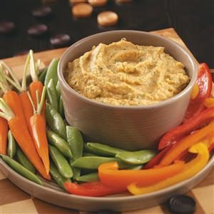 Lime Cilantro Hummus Recipe