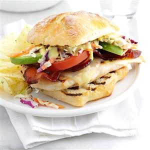 Loaded Grilled Chicken Sandwich