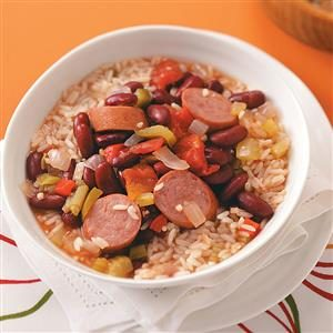 Louisiana Red Beans and Rice Recipe